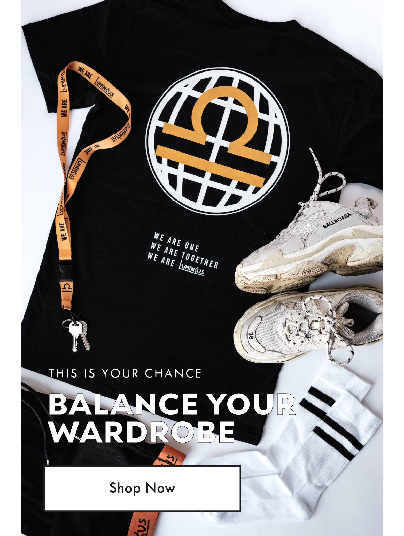 Balance Your Wardrobe - Shop Now