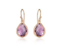 Piara Amethyst 18k Gold Plated Sterling Silver Earrings