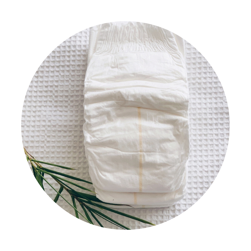 Cuddlies Bamboo Nappies biodegrade 75% of its content under 100 days