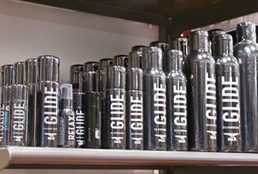 Shop for Mister B Lubes at the Men's Room Montreal