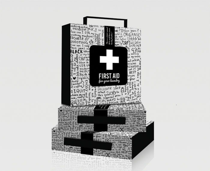 First aid pile