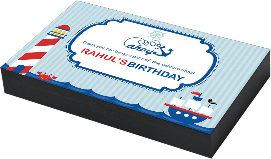 Sailor theme birthday party gift