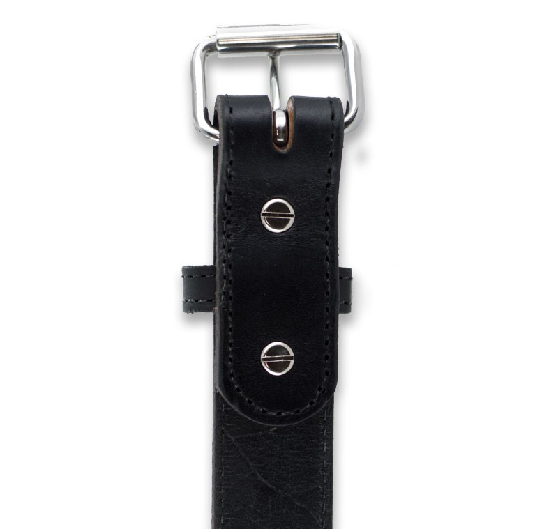 Chicago Screw construction for ease of Buckle Change on This Gun Belt