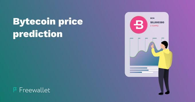 Bytecoin price prediction 2019, 2020, 2025