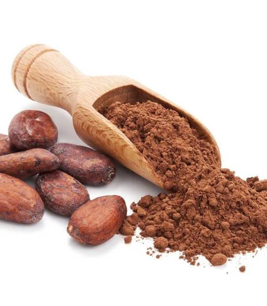 Raw Criollo cacao powder.