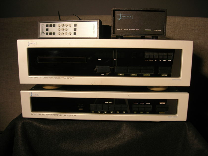 Spectral Audio SDR-3000 & SDR-2000 Pro Amazing Digital Playback Sound