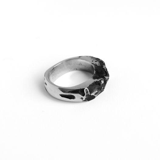 Стальное кольцо Alkor