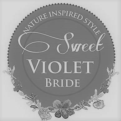 sweet violet bride logo