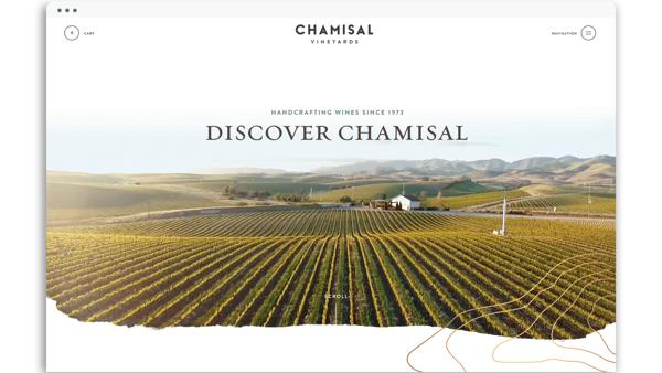 Chamisal Vineyards Website
