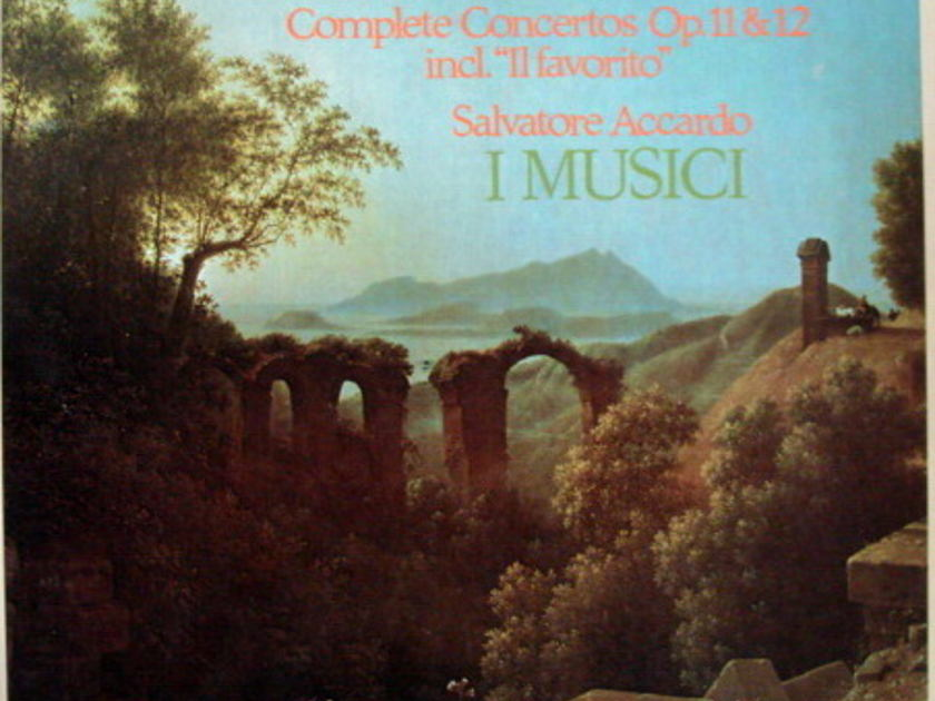 Philips / I MUSICI-ACCARDO, - Vivaldi Complete Concertos, NM, 3LP Box Set!