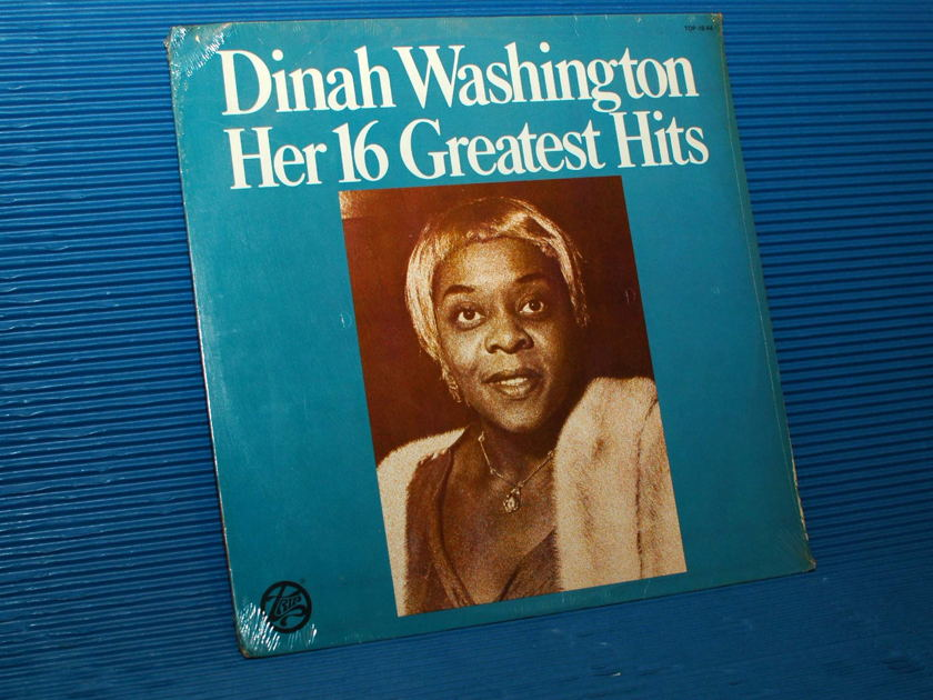 "DINAH WASHINGTON  - ""Her 16 Greatest Hits"" -  Trip 1978 SEALED"
