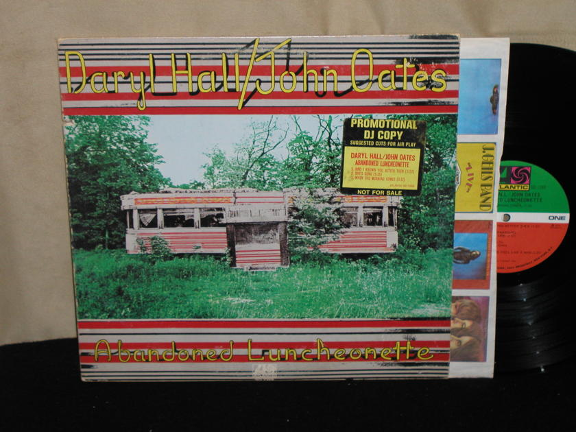 "Daryl Hall/John Oates - ""Abandoned Luncheonette"" Atlantic SD 7269 PROMO w/1841 Broadway labels from 1973"