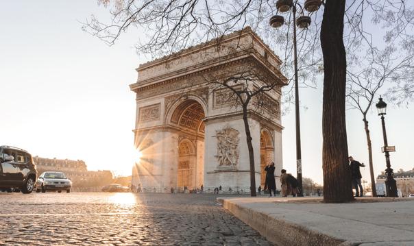 Париж: билеты без очереди на крышу Триумфальной арки