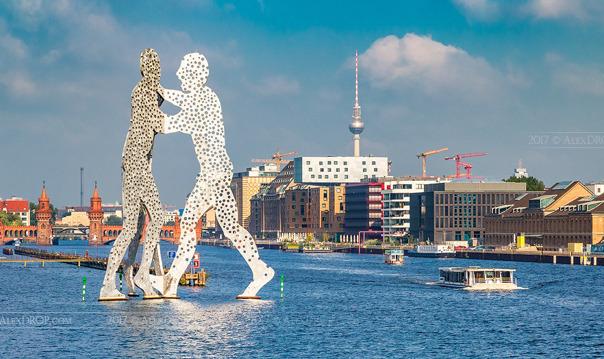 Берлин: круиз по Шпрее
