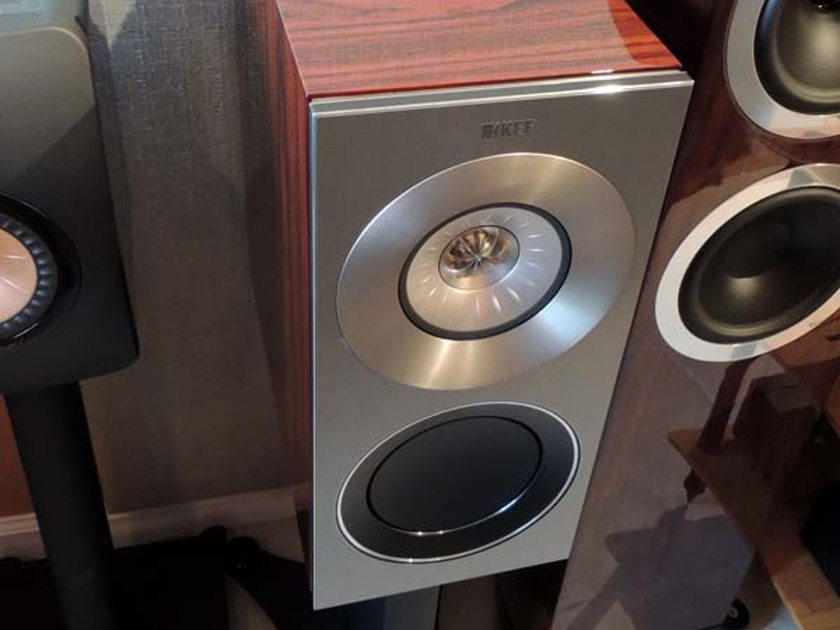 KEF REFERENCE 1  Loudspeakers, Dealer Demos, Rosewood finish, Warranty!