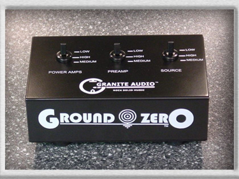 Granite Audio Ground Zero eliminate your ground loops