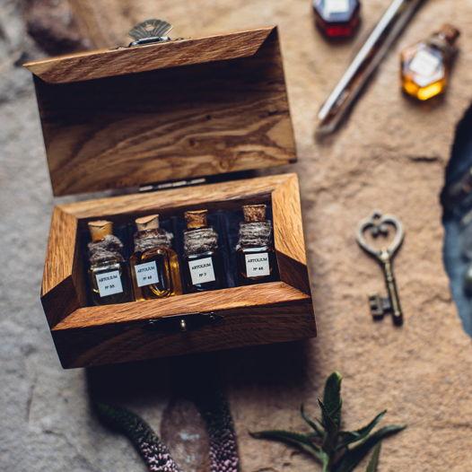 Набор из 4х ароматов по 2 мл селективной парфюмерии ручной работы