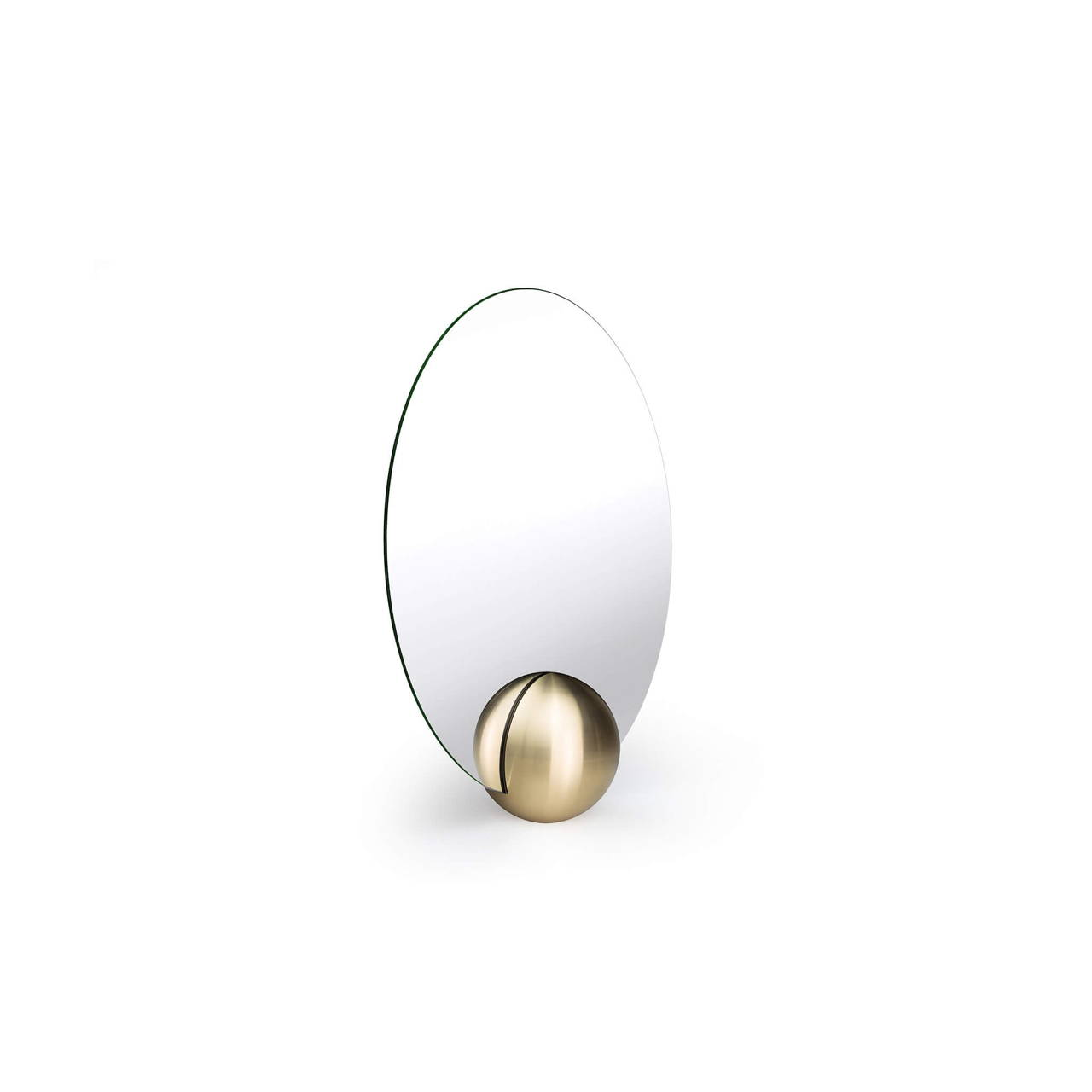 O-Mirror 200 in Brass