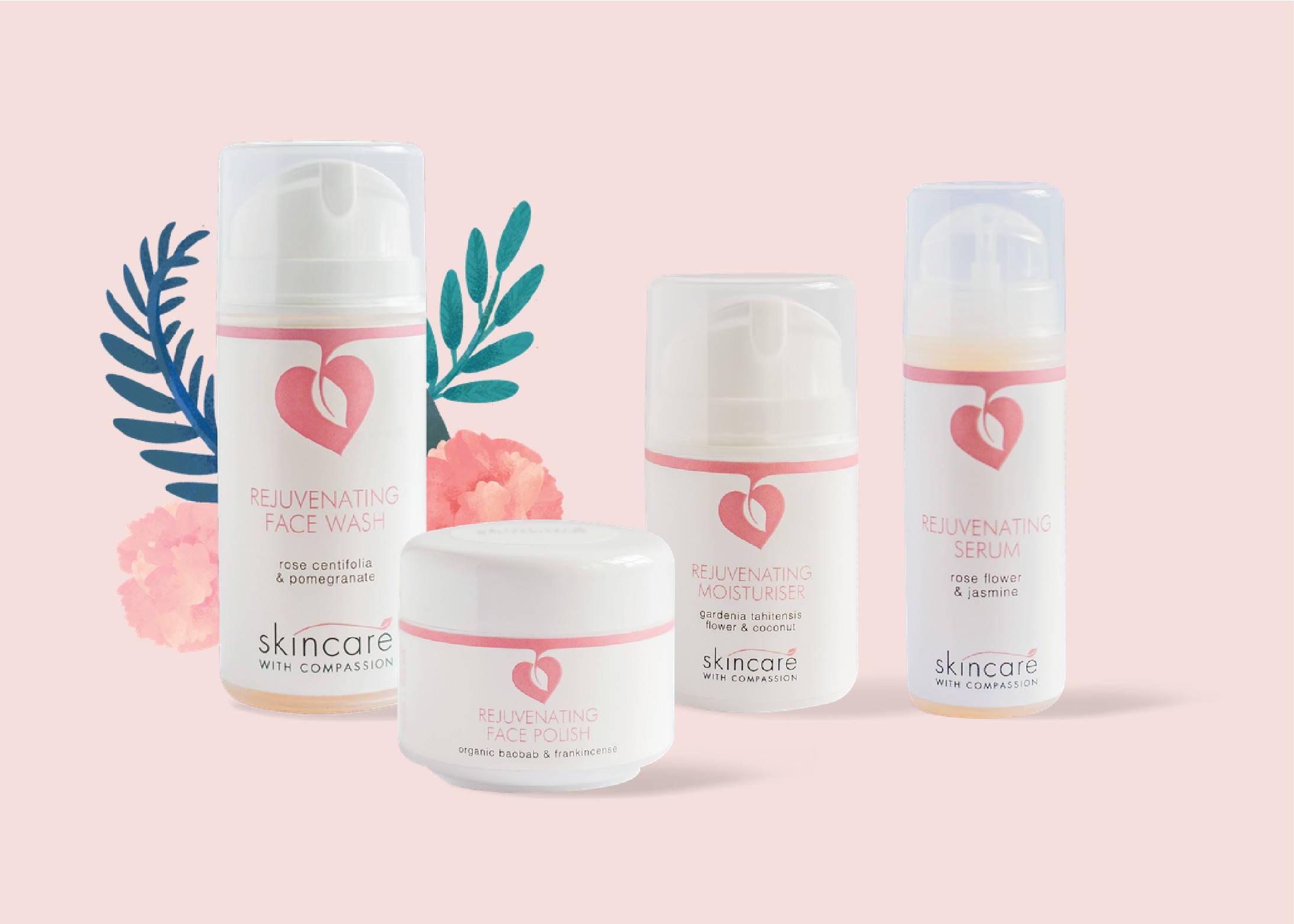 Natural, Vegan & Cruelty-free skincare
