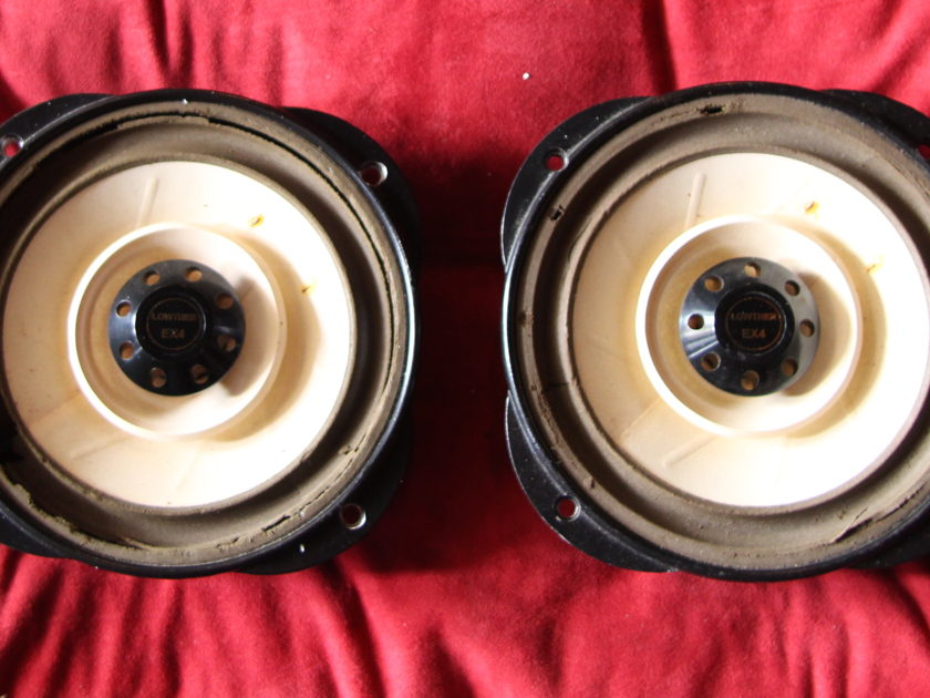 Lowther Loudspeakers EX-4 8 inch drivers!