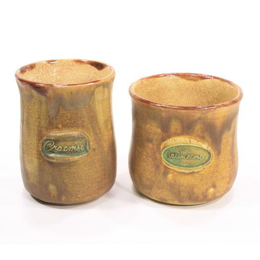 """Чашки """"Счастье Вместе"""", комплект из 2 изделий, медовые"""