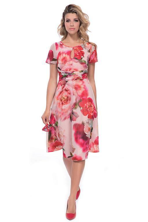 MICHAELA LOUISA 8474 FLORAL DRESS