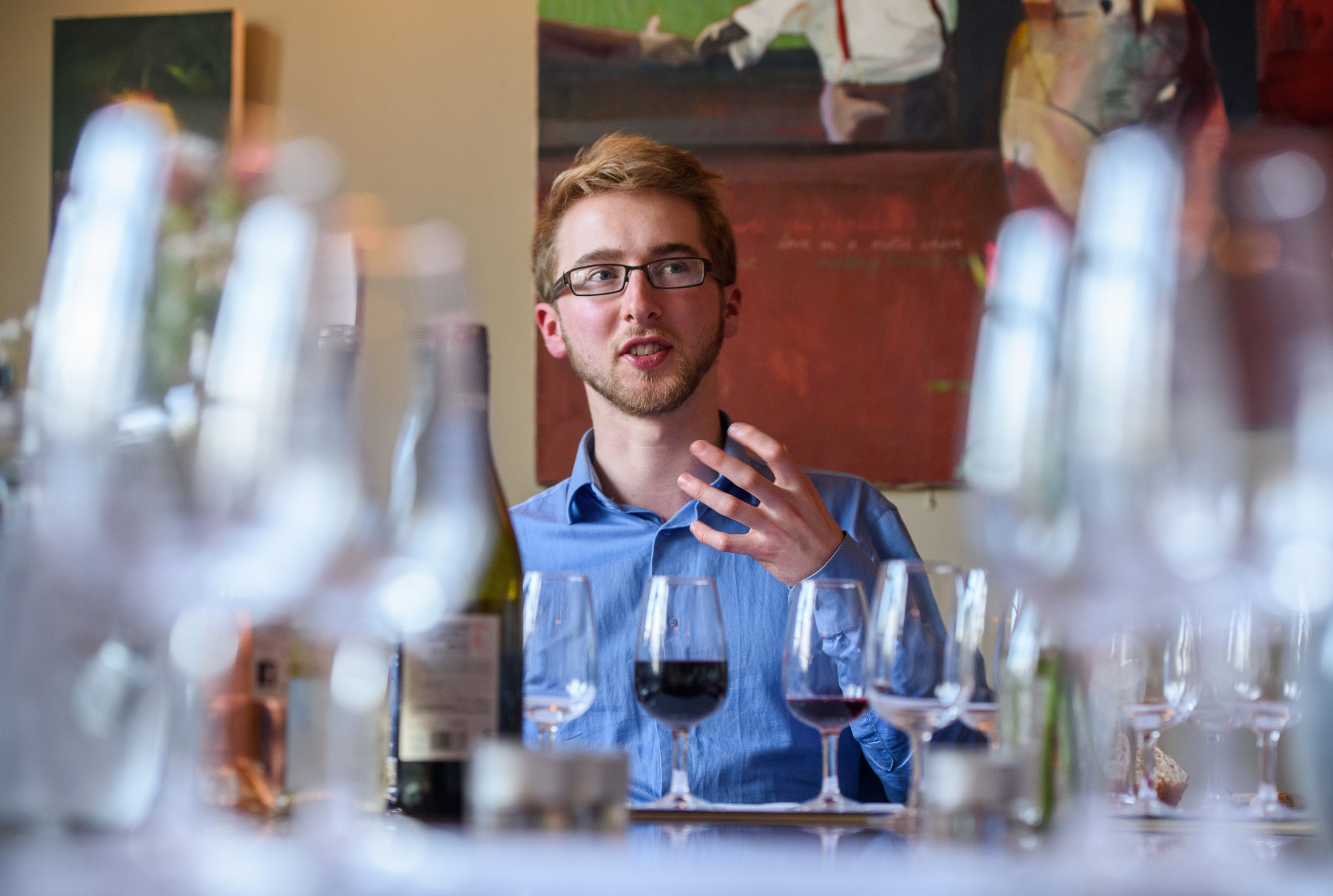 Expert host Ben Franks discusses wine for Novel Wines