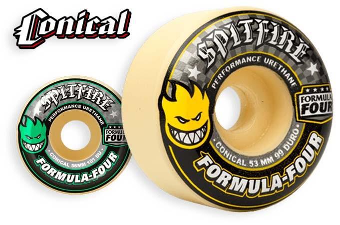 Spitfire Wheels Formula Four Conical ruote da skateboard