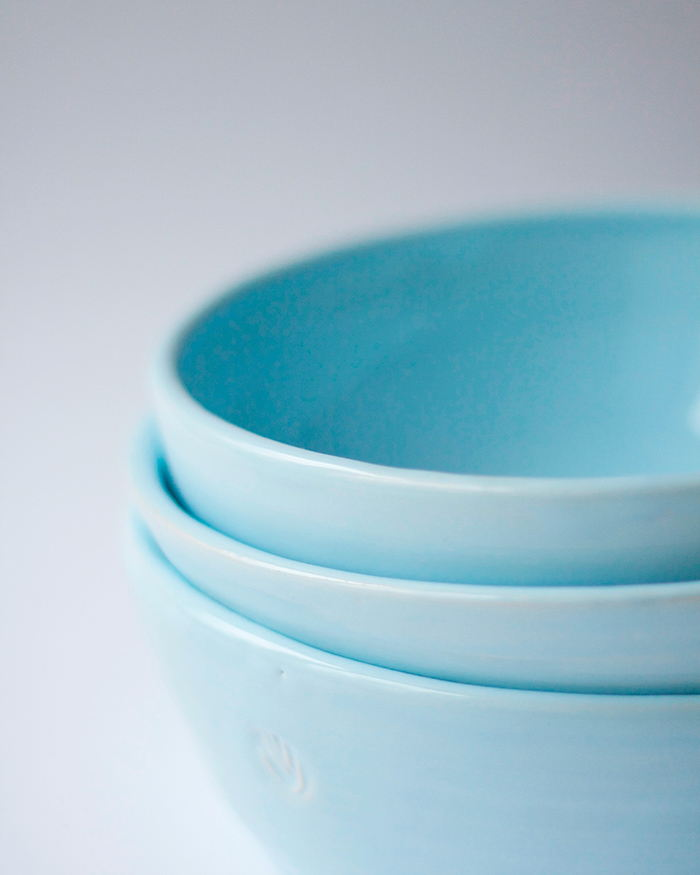 Набор глубоких керамических тарелок