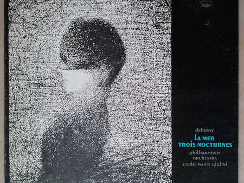Angel/Giulini/Debussy - La Mer, Trois Nocturnes / VG+
