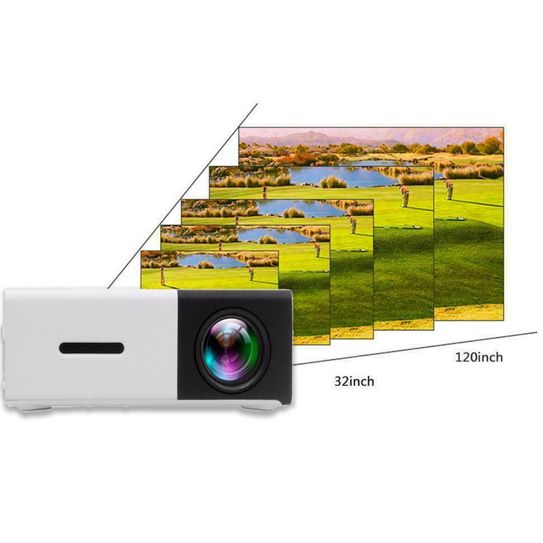 mini and lightweight LED projector