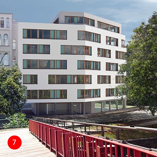 Berlin - Büro Projekt Lützowufer 13 | Asset Forward Deal, Lützowufer 13, 4.400 m² NGF