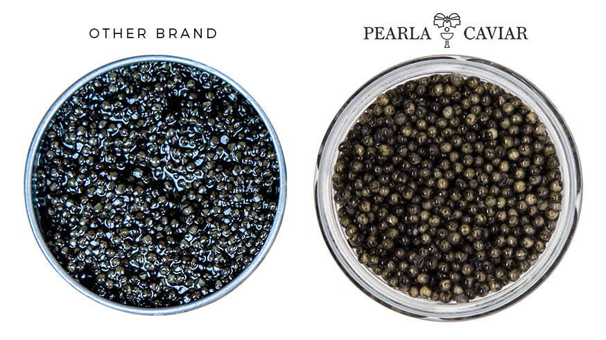 Pearla Caviar comparison