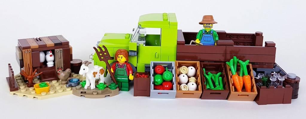 LEGO farmer van