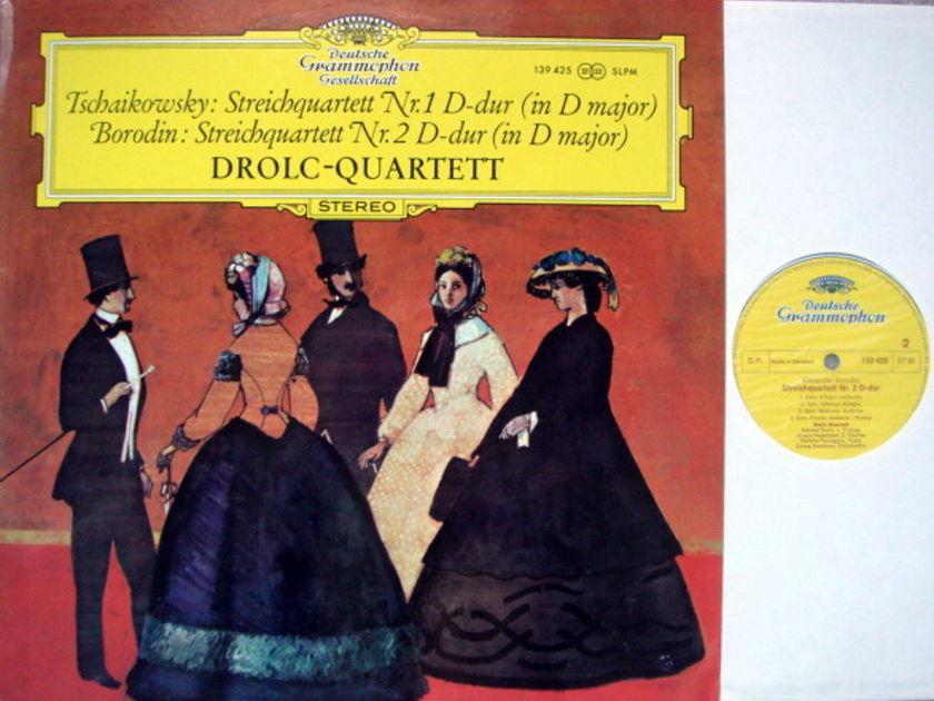DGG / DROLC QT, - Tchaikovsky-Borodin String Quartets, NM!