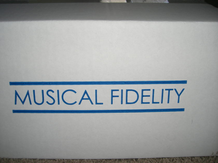 Musical Fidelity M1 ViNL MM/MC Phono Stage