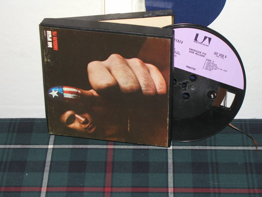 Don McLean - American Pie MAGTEC Open Reel Tape from 1970