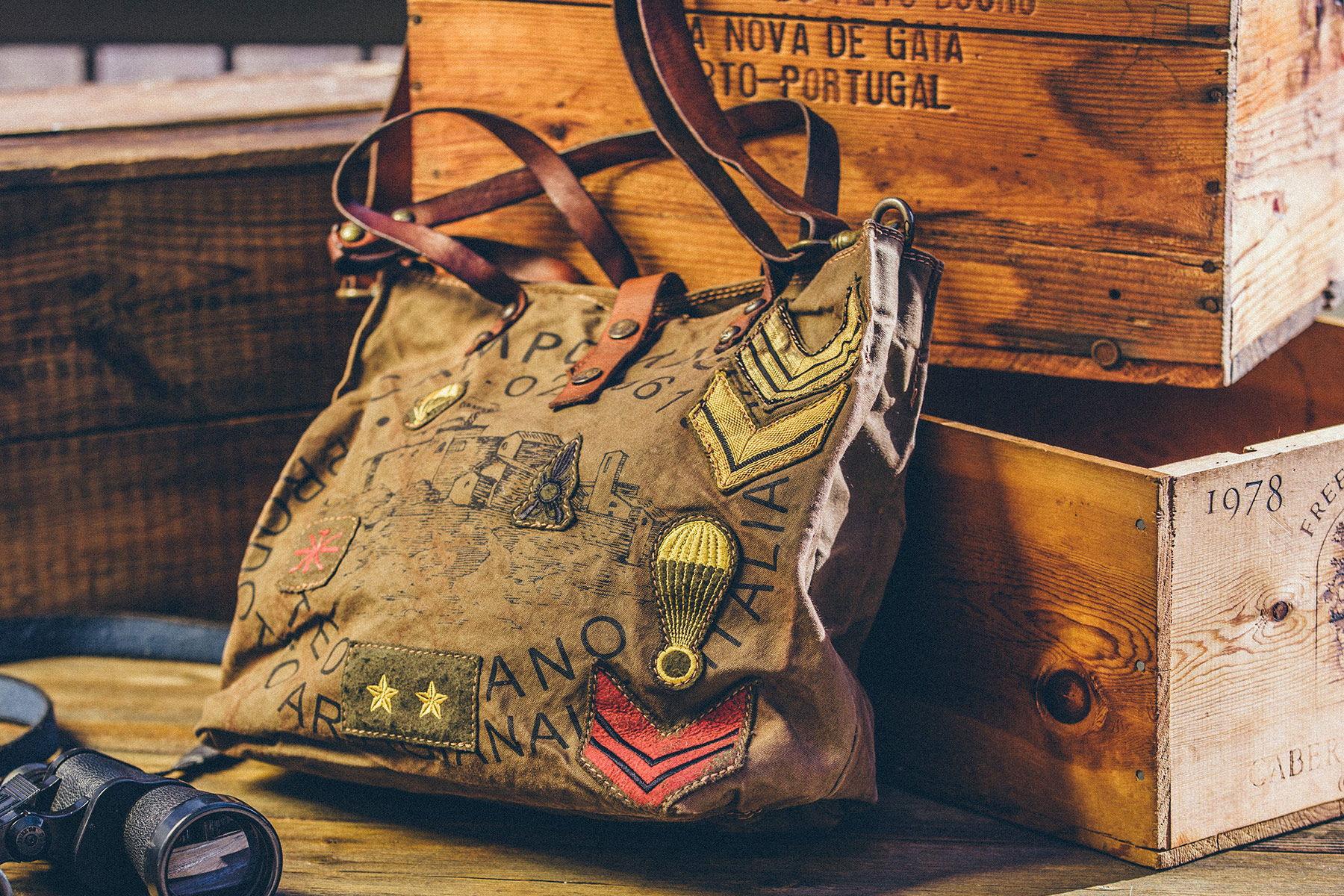 Campmaggi Viaggio Patch Bag
