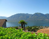 Ascona - Holiday with fantastic lake view, garden and pool