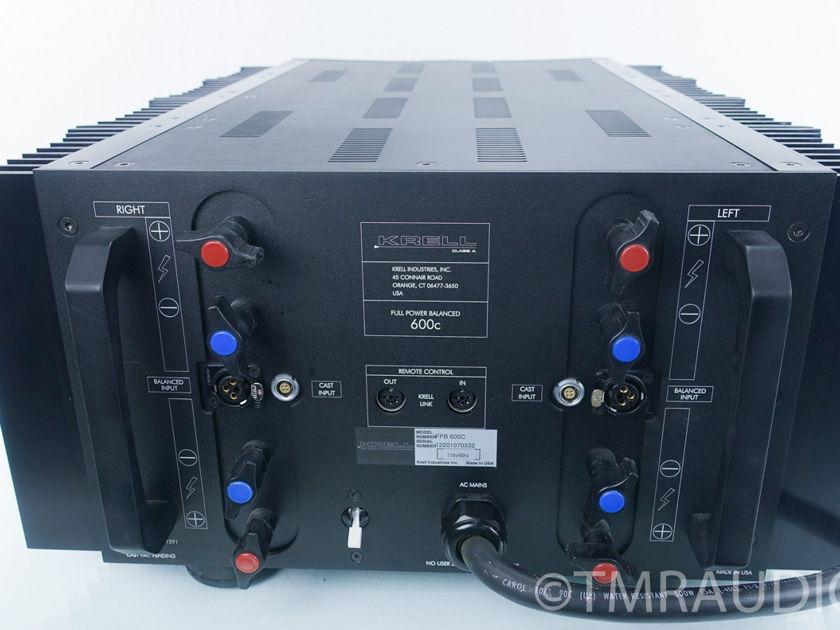 Krell  FPB-600C Power Amplifier; 600w / ch (9198)