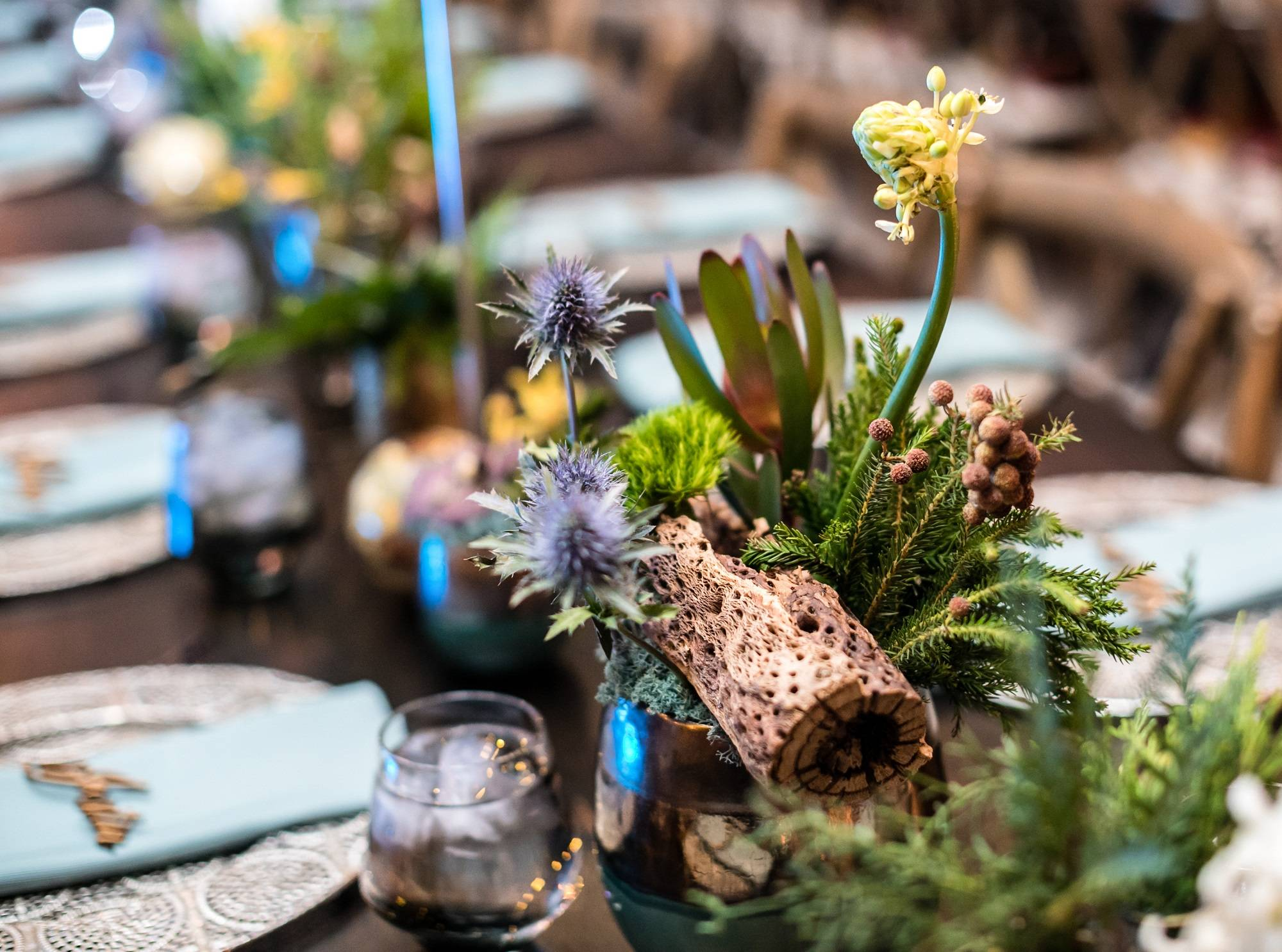 Bar Mitzvah flowers | around the world theme | Rochester Ny florist