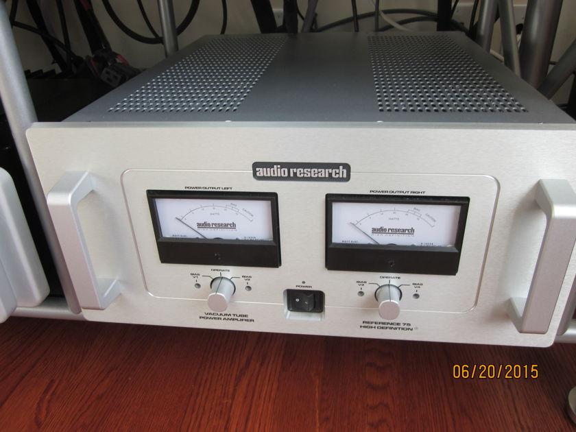 Audio Research Ref 75 Tube Amp
