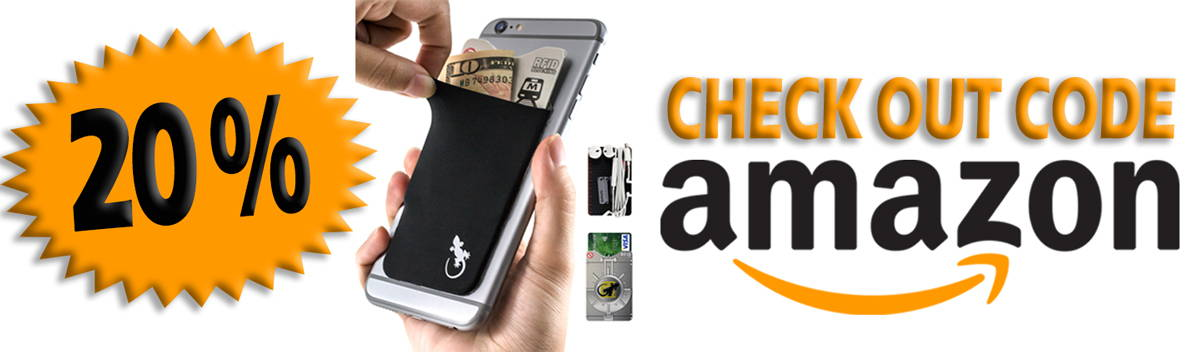 Phone Wallet on Amazon - Gecko Travel Tech Phone Wallet is 20% discount, Please opt in below to receive your code