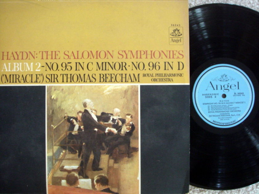 EMI Angel Blue / BEECHAN, - Haydn Symphonies No.95 & 96,  NM!
