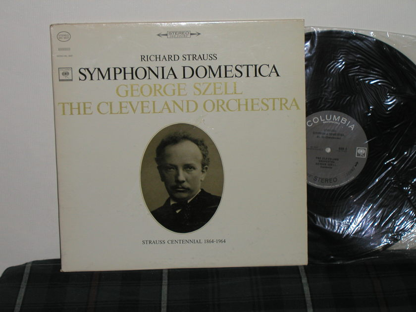 George Szell/Cleveland Orchestra - Richard Strauss:Symphonia Domestica Columbia MS 6627 <360> Black print labels from 60's