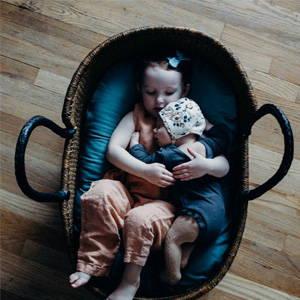 organic baby basket