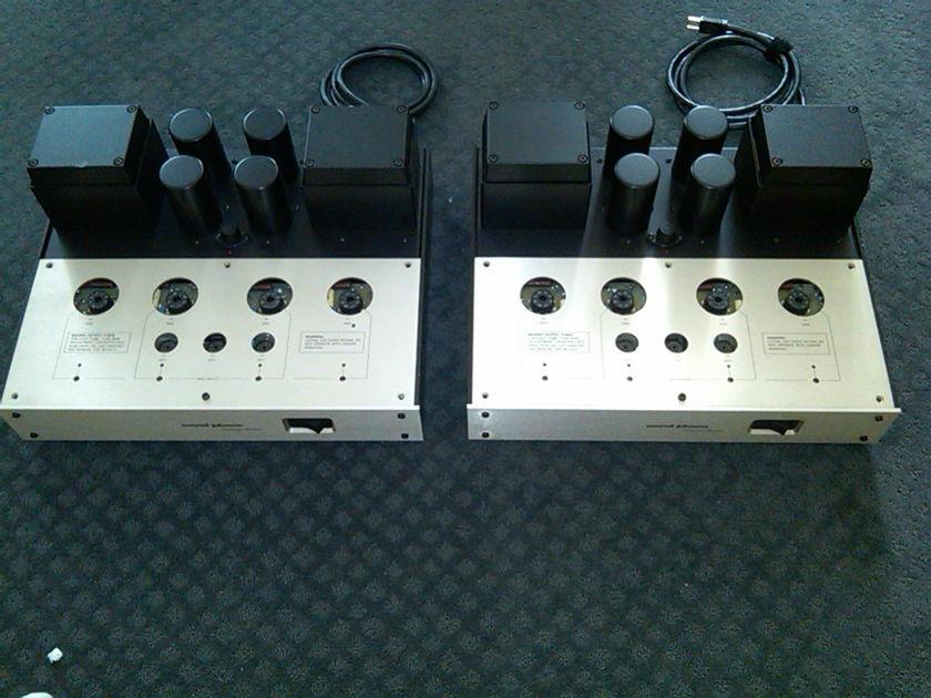 Conrad Johnson Premier 12 Monoblocks With Teflon Cap Upgrade by CJ
