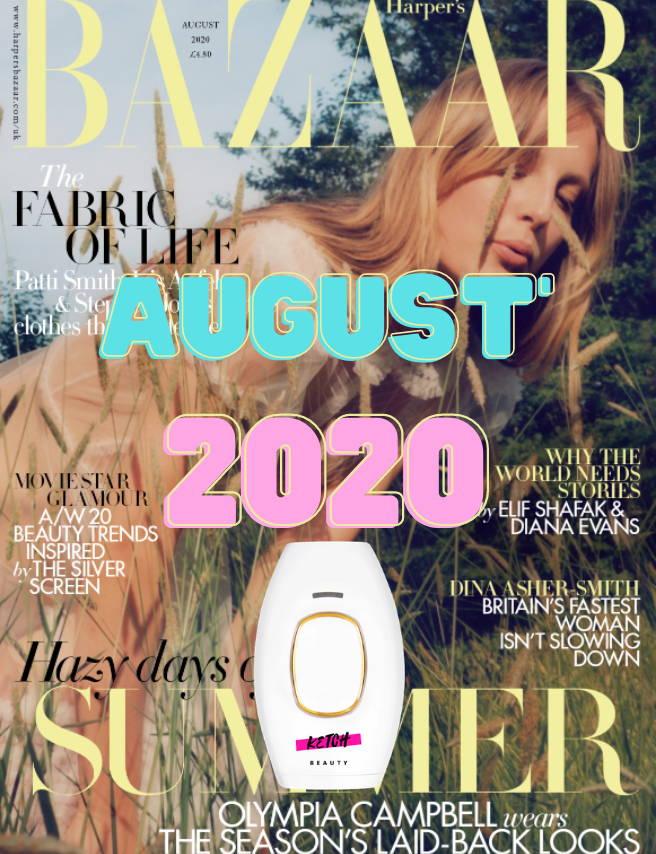 ketchbeauty harper's bazaar magazine
