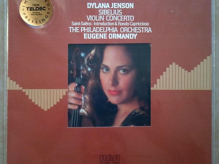 Sealed/RCA Digital/Dylana Jenson/Ormandy/Sibelius - Violin Concerto, Saint-Saens Introduction and Rondo Capriccioso