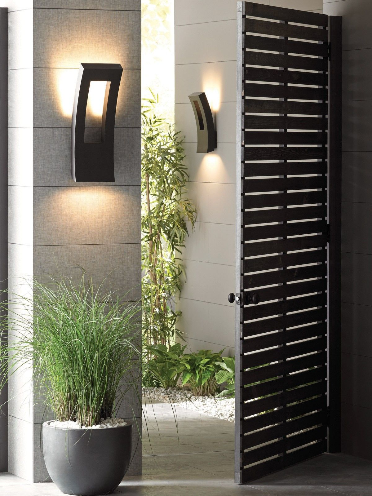 Modern Forms Dawn Indoor/Outdoor Dimmable LED Wall Light